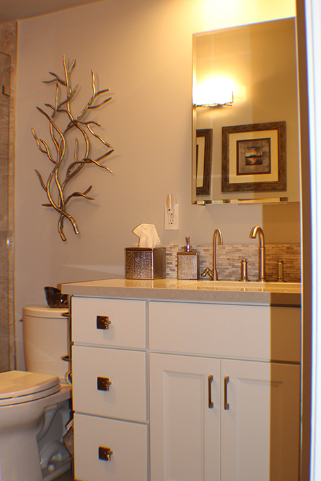 Cindy is a great interior designer to work with.  She really gets in tune with your individual style, works hard to bring your unique style to your home. We just finished working together on two of our bathrooms and I couldn't be happier.